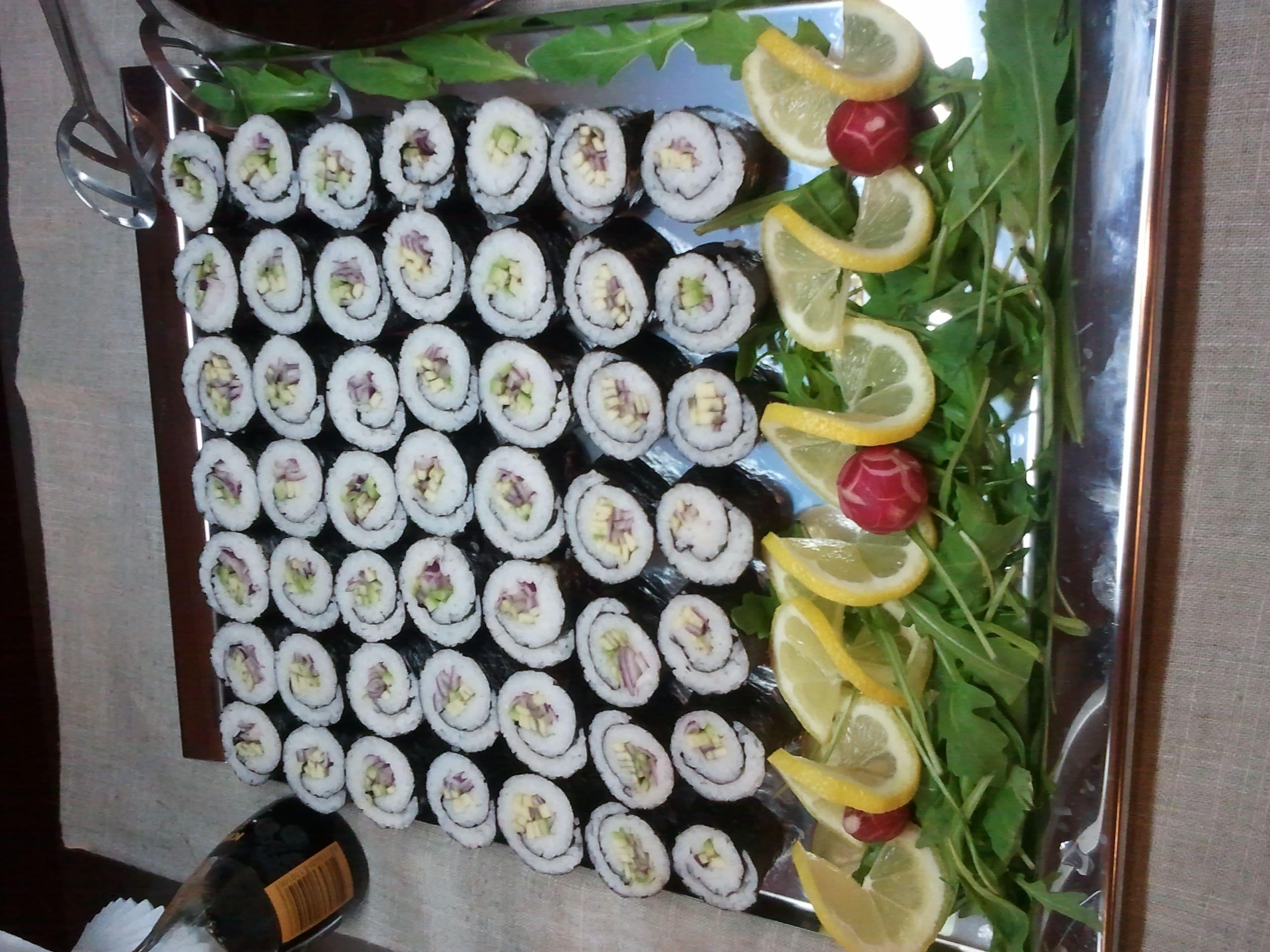 Vegetariánské sushi